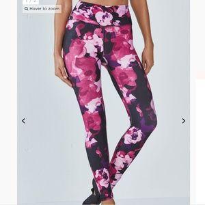 Fabletics Lisette Legging High Waisted Floral New!